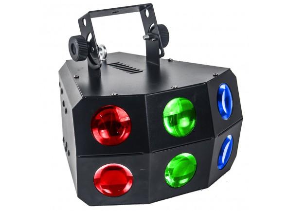 Projetor de Efeitos /Projector LED PAR Karma Projector Efeitos LED RGBA