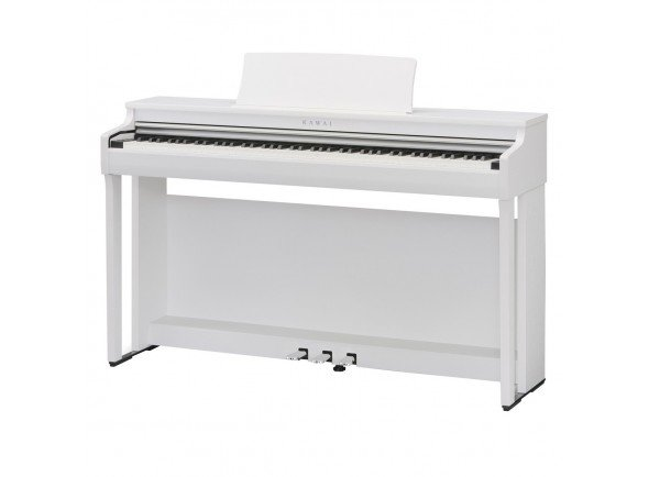 Piano Digital/Pianos Digitais de Móvel Kawai CN27 Satin White