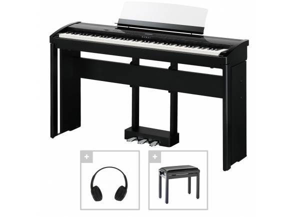 Piano Digital/Pianos Digitais de Móvel Kawai ES-8 B Deluxe Bundle