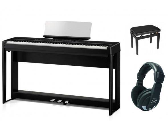 Pianos Digitales Portátiles Kawai ES-920 B Deluxe Bundle