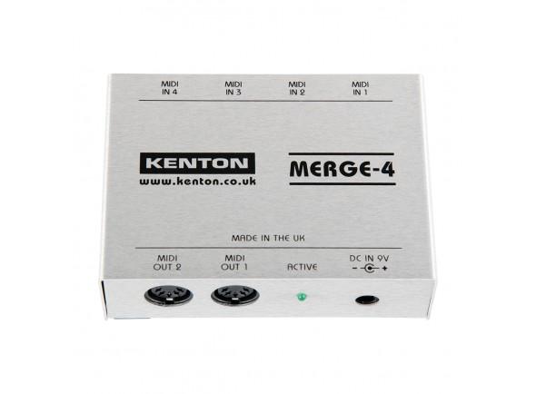 Fusão Midi Ativa/Ferramentas Midi Kenton MIDI Merge-4