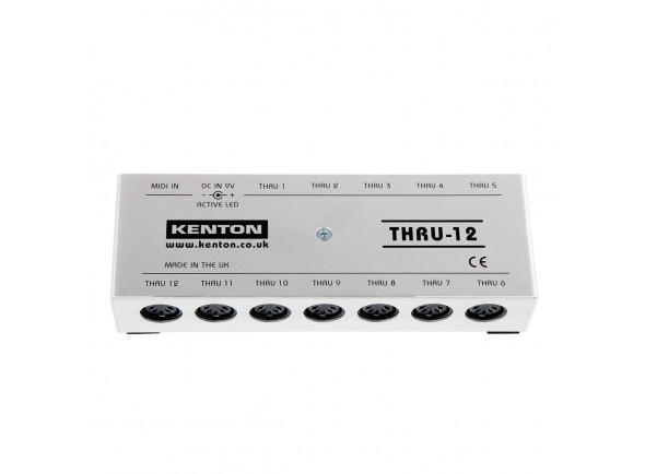 Distribuidor MIDI /Ferramentas Midi Kenton MIDI Thru 12