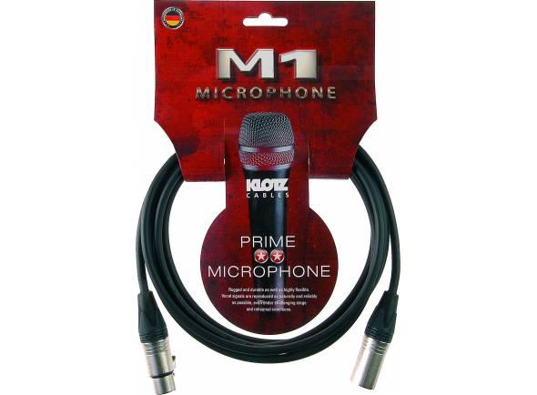 Cabo para Microfone/Cabos XLR / Microfone Klotz M1FM1N0300 3m