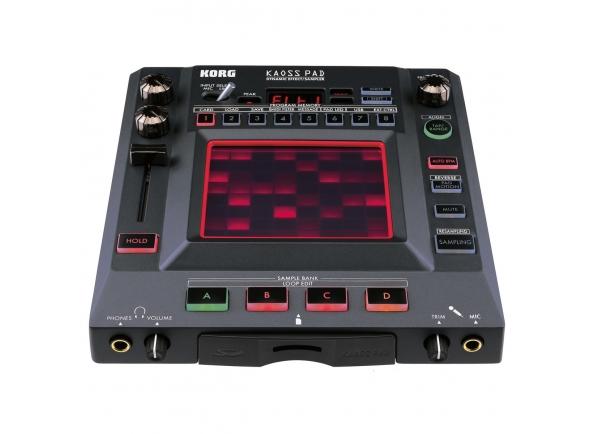 Sintetizadores e Samplers Korg  DJ Effects  Kaoss Pad KP3+ Dynamic Effects Sampler