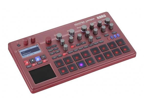 Sintetizadores e Samplers Korg Electribe Sampler Red