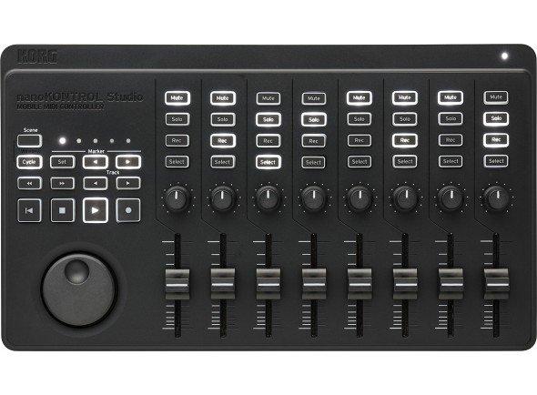 Controladores de DAW/Controladores DAW Korg nanoKONTROL Studio