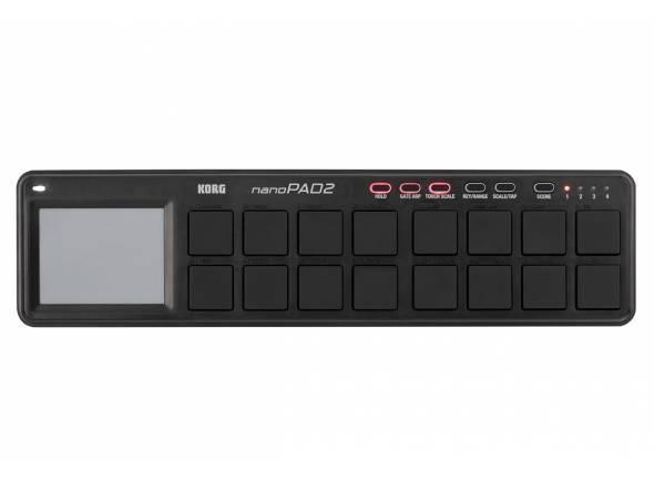 Outros controladores/Controladores de DAW Korg nanoPAD 2 black