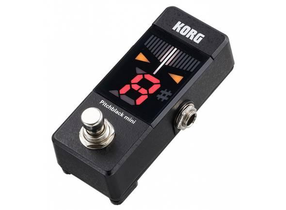 Afinador de Guitarra Korg Pitchblack Mini BK