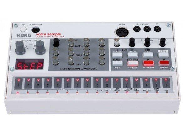 Sintetizadores e Samplers Korg Volca Sample  Sintetizador SamplersKorg Volca Sample