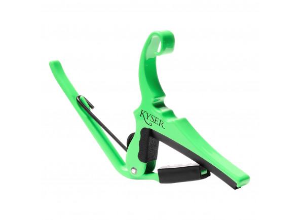 Transpositor para guitarra elétrica e guitarra acústica Kyser   KG6NGA Neon Green