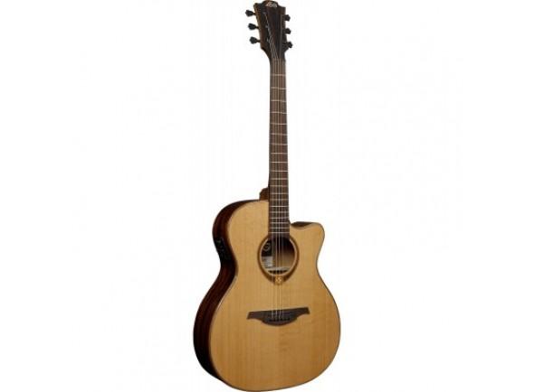 Guitarra Acústica LAG  Auditorium Tramontane 118 Slim A/E Cutaway - Natural