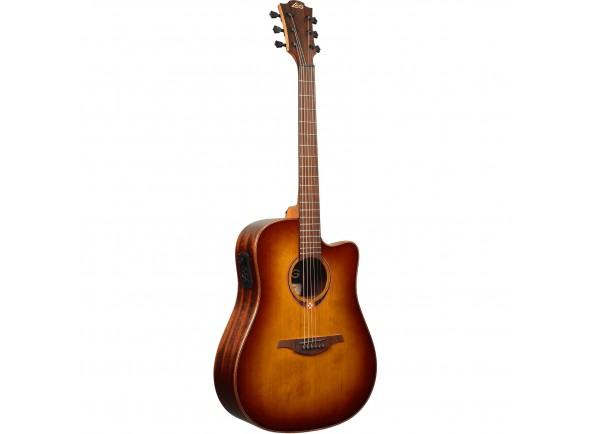 Guitarra Acústica LAG  Dreadnought Tramontane 118 A/E Cutaway - Brown Shadow