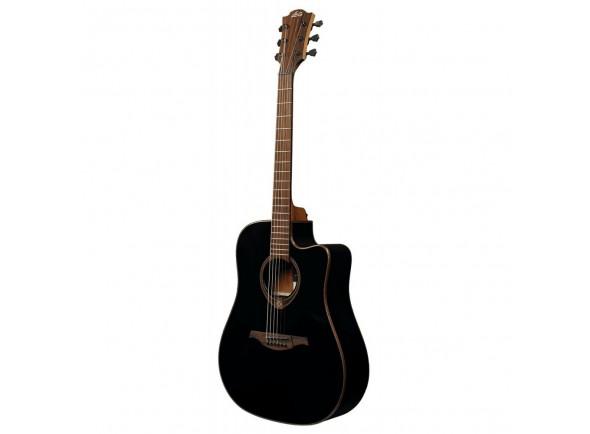 Guitarra Acústica LAG Dreadnought Tramontane 118 A/E Cutaway - Negra