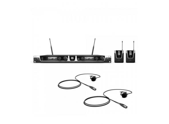 Sistema sem fio com microfone lapela LD Systems ADAM_LDU506BPL2