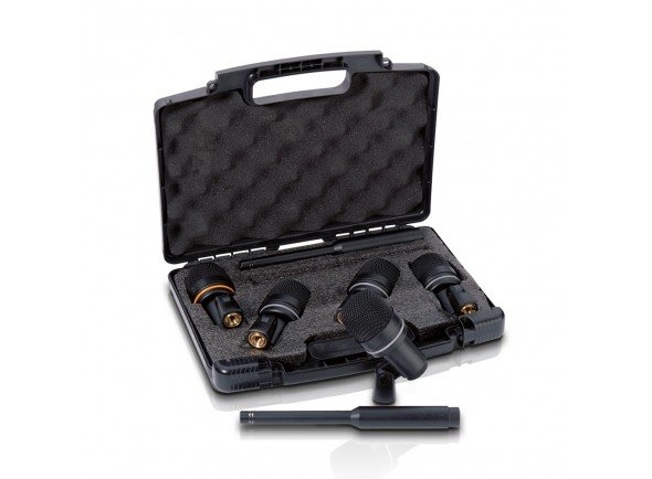 Conjunto de microfones para bateria/Conjunto de microfones para bateria LD Systems D1017SET