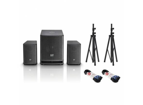 Conjuntos completos PA LD Systems Dave 10 G3 Pack