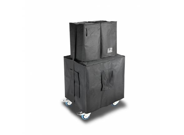 Colunas LD Systems Dave Bolsas de transporte LD Systems Dave 12 G3 Cover Set