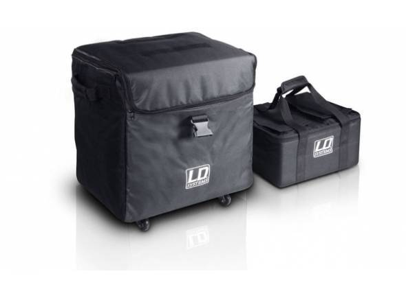 Colunas e altifalantes/Conjuntos completos PA LD Systems Dave 8 Roadie Pack