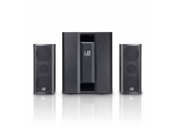 Conjuntos completos PA LD Systems Dave 8 Roadie
