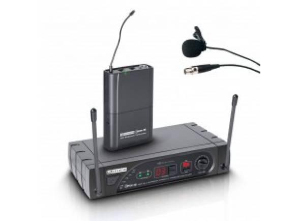 Microfone de lapela LD Systems LDWSECO16BPLB6