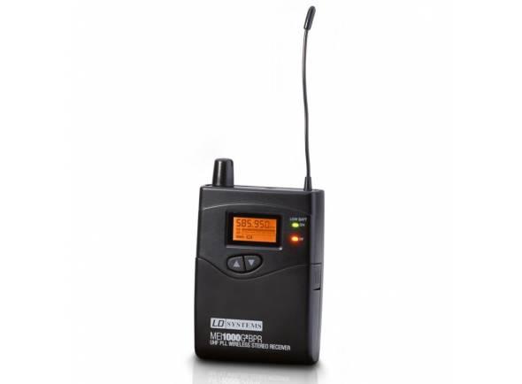 Pocket e Recetor LD Systems MEI 1000 BPR G2 B5