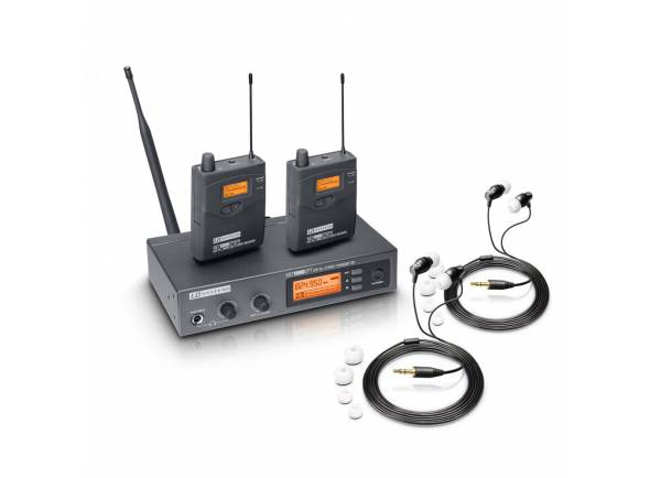 Monitorização in-ear Wireless LD Systems MEI 1000 G2 Bundle
