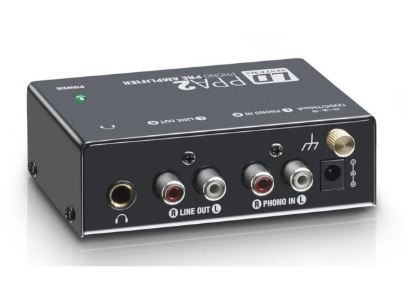 Pré-Amplificador de Gira Discos/Gira-discos de alta fidelidade LD Systems PPA 2