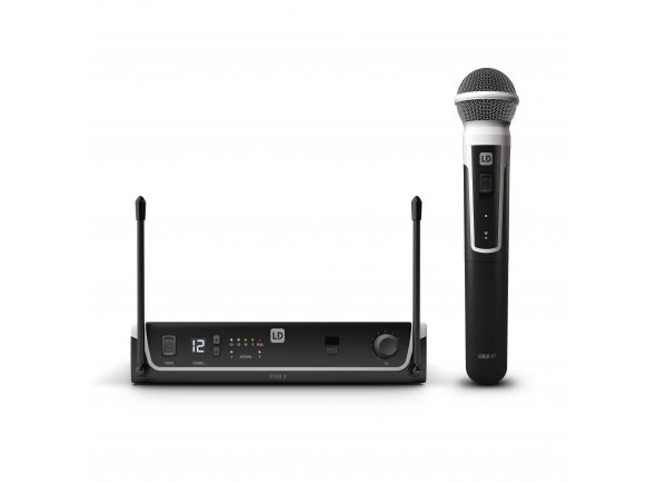Sistema sem fios com microfone de mão LD Systems U306 HHD