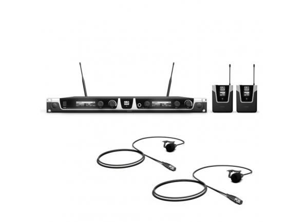 Sistema sem fio com microfone lapela LD Systems U505 BPL 2