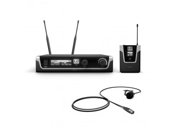 Sistema sem fio com microfone lapela LD Systems U505 BPL