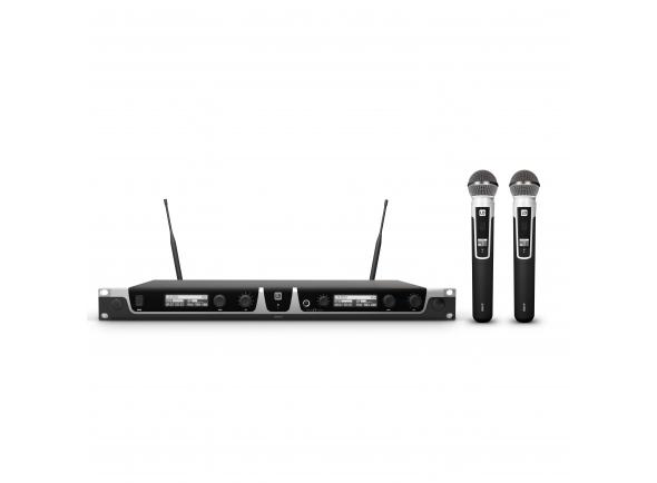 Sistema sem fios com microfone de mão LD Systems U518 HHD2