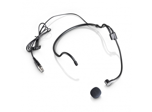 Microfone de cabeça/Microfone de cabeça LD Systems WS 100 MH 1