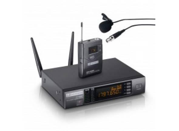 Microfone de lapela LD Systems WS1G8BPL