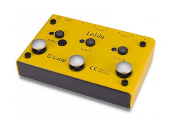 Looper / Switcher de efeitos/Comutadores Lehle D.Loop SGoS
