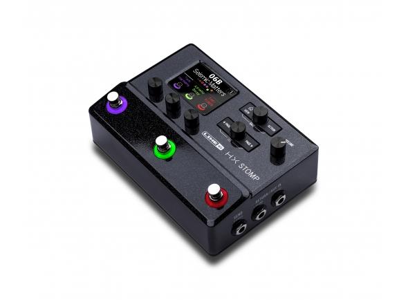 Pedaleiras para guitarra elétrica Line6 HX Stomp Box