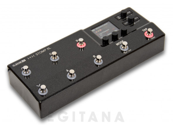 Pedaleiras para guitarra elétrica Line6  HX Stomp XL
