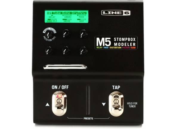 Pedaleiras para guitarra elétrica Line6 M5