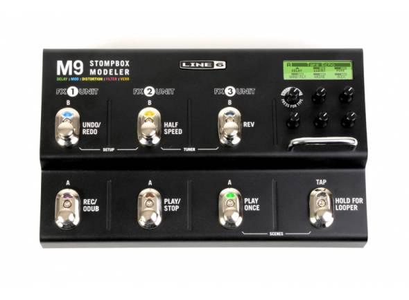 Pedaleiras para guitarra elétrica Line6 M9 Stomp Box