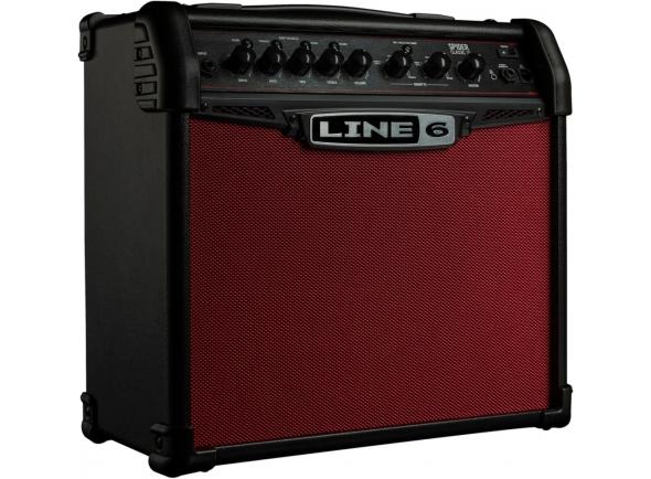 Combos de Guitarra Eléctrica de Modulação Line6 Spider V 20 Red Edition