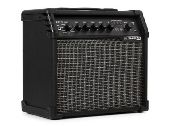 Combos de Guitarra Eléctrica de Modulação Line6 Spider V 20 MKII