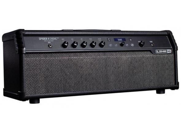 Cabeça de modelação para guitarra elétrica/Cabeças de guitarra com modulação Line6 Spider V 240HC MkII Head