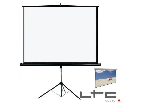 Projecção de vídeo LTC Audio Tela Projeção C/ Suporte Tripé 112