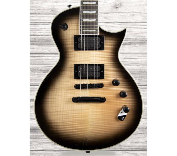 Guitarras formato Single Cut ESP LTD EC-1000T FM BLKNB