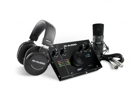 Interface Áudio USB M-Audio AIR 192|4 Vocal Studio Pro