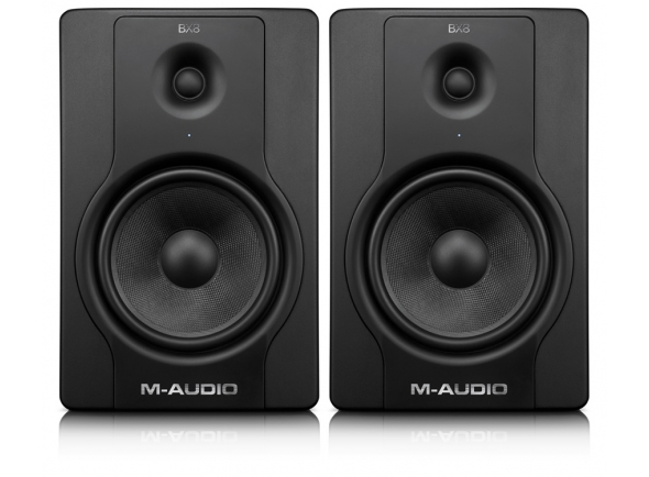 Monitores de estúdio activos M-Audio BX8 D2
