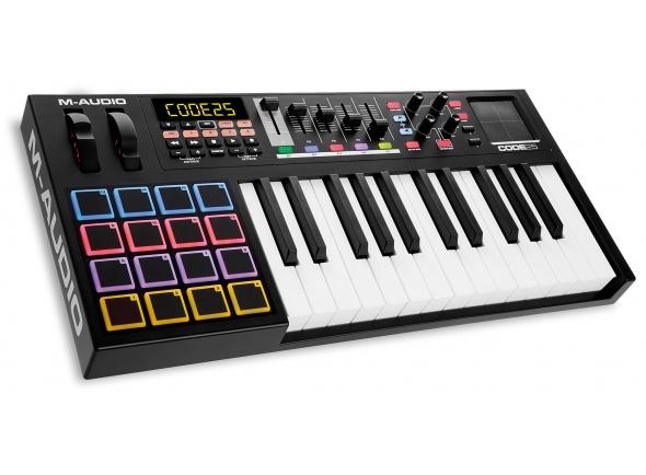 Teclados MIDI Controladores M-Audio Code 25 Black