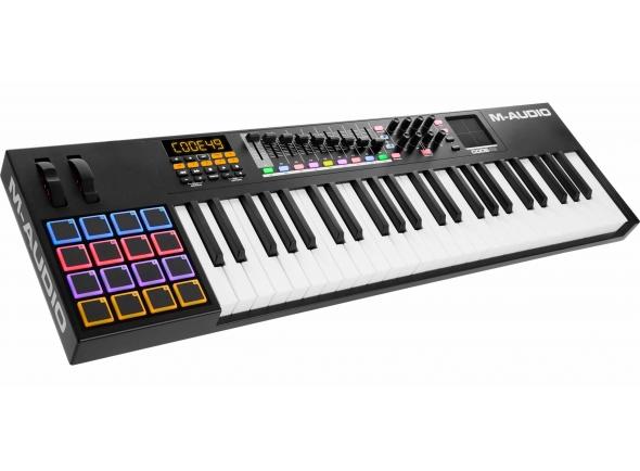 Teclados MIDI Controladores M-Audio Code 49 Black