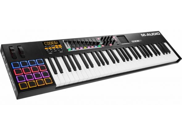 Teclados MIDI Controladores M-Audio Code 61 Black
