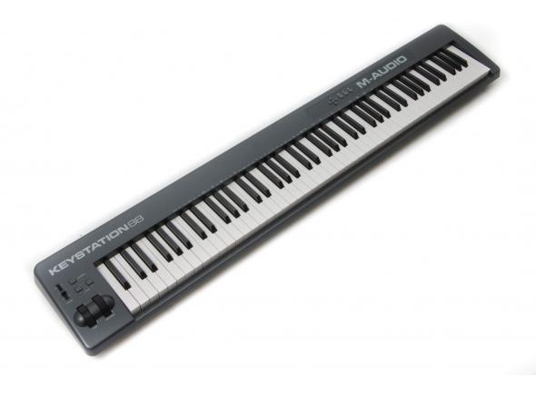 Teclados MIDI Controladores M-Audio Keystation 88 MkII
