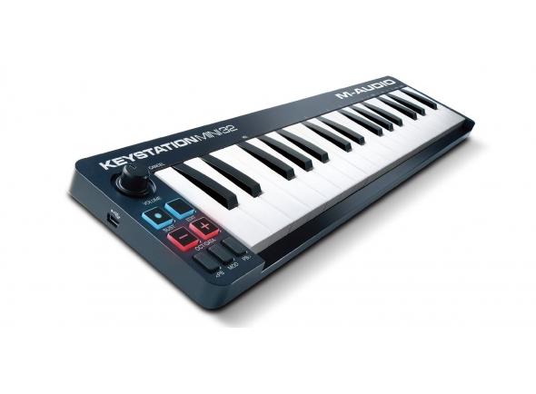 Ver mais informações do  M-Audio Keystation Mini 32